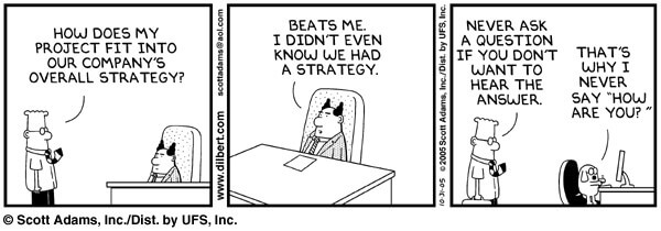 Strategy execution requires strategic action